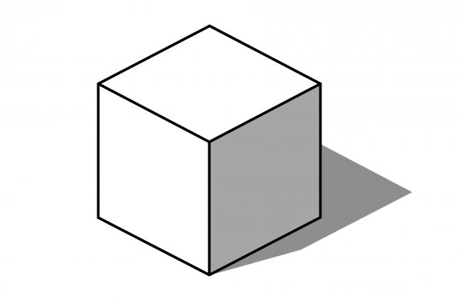 bouwvolume 9 x 9 x 9 meter, hoofdvorm vanuit stedenbouwkundig plan